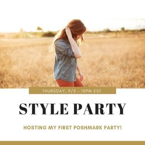 Dresses & Skirts - Hosting my first Posh Party!! Save the Date!